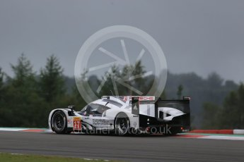 World © Octane Photographic Ltd. FIA World Endurance Championship (WEC), 6 Hours of Nurburgring , Germany - Practice, Friday 28th August 2015. Porsche Team – Porsche 919 Hybrid - LMP1 - Timo Bernhard, Mark Webber and Brendon Hartley. Digital Ref : 1392LB1D3550