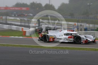 World © Octane Photographic Ltd. FIA World Endurance Championship (WEC), 6 Hours of Nurburgring , Germany - Practice, Friday 28th August 2015. Audi Sport Team Joest- Audi R18 e-tron Quatrro - LMP1 - Oliver Jarvis, Lucas di Grassi and Loic Duval. Digital Ref : 1392LB7D4849