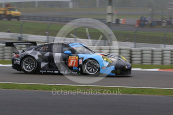 World © Octane Photographic Ltd. FIA World Endurance Championship (WEC), 6 Hours of Nurburgring , Germany - Practice, Friday 28th August 2015. Dempsey-Proton Racing – Porsche 911 RSR - LMGTE Am – Patrick Dempsey, Patrick Long and Marco Seefried. Digital Ref : 1392LB7D4864
