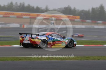 World © Octane Photographic Ltd. FIA World Endurance Championship (WEC), 6 Hours of Nurburgring , Germany - Practice, Friday 28th August 2015. AF Corse – Ferrari F458 Italia GT2 - LMGTE Pro – Gianmaria Bruni, Toni Vilander. Digital Ref : 1392LB7D4902