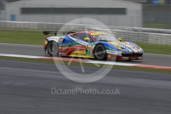 World © Octane Photographic Ltd. FIA World Endurance Championship (WEC), 6 Hours of Nurburgring , Germany - Practice, Friday 28th August 2015. AF Corse – Ferrari F458 Italia GT2 - LMGTE Pro – Davide Rigon and James Calado. Digital Ref : 1392LB7D5142