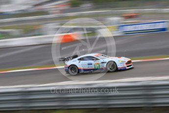World © Octane Photographic Ltd. FIA World Endurance Championship (WEC), 6 Hours of Nurburgring , Germany - Practice, Friday 28th August 2015. Aston Martin Racing – Aston Martin Vantage V8 - LMGTE Pro – Marco Sorensen and Christoffer Nygaard. Digital Ref : 1392LB7D5406