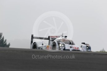 World © Octane Photographic Ltd. FIA World Endurance Championship (WEC), 6 Hours of Nurburgring , Germany - Practice 3, Saturday 29th August 2015. Porsche Team – Porsche 919 Hybrid - LMP1 - Timo Bernhard, Mark Webber and Brendon Hartley. Digital Ref : 1395LB1D4965