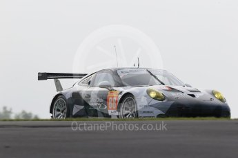 World © Octane Photographic Ltd. FIA World Endurance Championship (WEC), 6 Hours of Nurburgring , Germany - Practice 3, Saturday 29th August 2015. Abu Dhabi-Proton Racing – Porsche 911 RSR - LMGTE Am – Christian Ried, Earl Bamber and Khaled Al Qubaisi. Digital Ref : 1395LB1D4972