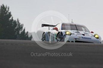 World © Octane Photographic Ltd. FIA World Endurance Championship (WEC), 6 Hours of Nurburgring , Germany - Practice 3, Saturday 29th August 2015. Porsche Team Manthey – Porsche 911RSR - LMGTE Pro – Richard Lietz and Michael Chistensen. Digital Ref : 1395LB1D5035