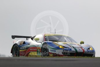 World © Octane Photographic Ltd. FIA World Endurance Championship (WEC), 6 Hours of Nurburgring , Germany - Practice 3, Saturday 29th August 2015. AF Corse – Ferrari F458 Italia GT2 - LMGTE Pro – Davide Rigon and James Calado. Digital Ref : 1395LB1D5112