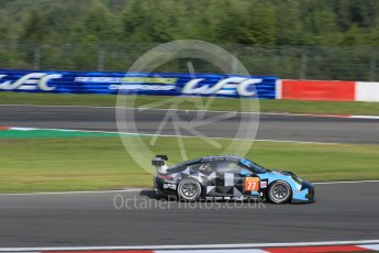 World © Octane Photographic Ltd. FIA World Endurance Championship (WEC), 6 Hours of Nurburgring , Germany - Practice 3, Saturday 29th August 2015. Dempsey-Proton Racing – Porsche 911 RSR - LMGTE Am – Patrick Dempsey, Patrick Long and Marco Seefried. Digital Ref : 1395LB5D0604