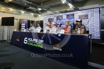 World © Octane Photographic Ltd. FIA World Endurance Championship (WEC), 6 Hours of Nurburgring , Germany - Qualifying Press Conference, Saturday 29th August 2015. Digital Ref : 1397LB1D6202