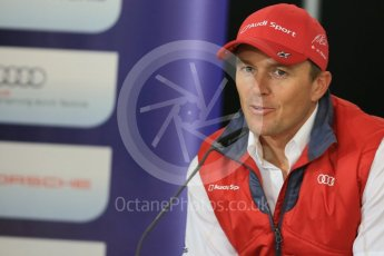World © Octane Photographic Ltd. FIA World Endurance Championship (WEC), 6 Hours of Nurburgring , Germany - Press Conference, Friday 28th August 2015. Audi Sport Team Joest- Marcel Fassler. Digital Ref : 1393LB5D0219