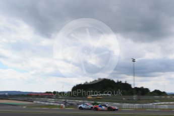World © Octane Photographic Ltd. FIA World Endurance Championship (WEC), 6 Hours of Nurburgring , Germany - Qualifying, Saturday 29th August 2015. SMP Racing – Ferrari F458 Italia GT2 - LMGTE Am – Viktor Shaitar, Aleksey Basov and Andrea Bertolini and Aston Martin Racing – Aston Martin Vantage V8 - LMGTE Pro – Marco Sorensen and Christoffer Nygaard. Digital Ref : 1396LB1D5900