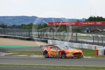 World © Octane Photographic Ltd. FIA World Endurance Championship (WEC), 6 Hours of Nurburgring , Germany - Qualifying, Saturday 29th August 2015. Aston Martin Racing V8 – Aston Martin Vantage V8 - LMGTE Pro – Fernando Rees, Alex MacDowell and Richie Stanaway. Digital Ref : 1396LB5D0686