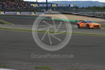 World © Octane Photographic Ltd. FIA World Endurance Championship (WEC), 6 Hours of Nurburgring , Germany - Qualifying, Saturday 29th August 2015. Aston Martin Racing V8 – Aston Martin Vantage V8 - LMGTE Pro – Fernando Rees, Alex MacDowell and Richie Stanaway. Digital Ref : 1396LB5D0772