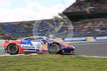 World © Octane Photographic Ltd. FIA World Endurance Championship (WEC), 6 Hours of Nurburgring , Germany - Qualifying, Saturday 29th August 2015. SMP Racing – Ferrari F458 Italia GT2 - LMGTE Am – Viktor Shaitar, Aleksey Basov and Andrea Bertolini. Digital Ref : 1396LB5D0974
