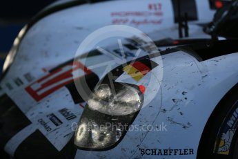 World © Octane Photographic Ltd. FIA World Endurance Championship (WEC), 6 Hours of Nurburgring , Germany – Race parc ferme, Sunday 30th August 2015. Porsche Team – Porsche 919 Hybrid - LMP1 - Timo Bernhard, Mark Webber and Brendon Hartley (1st). Digital Ref : 1399LB5D2111
