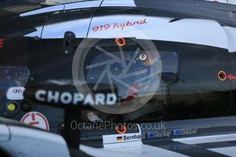World © Octane Photographic Ltd. FIA World Endurance Championship (WEC), 6 Hours of Nurburgring , Germany – Race parc ferme, Sunday 30th August 2015. Porsche Team – Porsche 919 Hybrid - LMP1 - Mark Webber (1st). Digital Ref : 1399LB5D2113