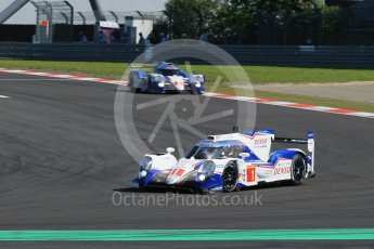 World © Octane Photographic Ltd. FIA World Endurance Championship (WEC), 6 Hours of Nurburgring , Germany - Race, Sunday 30th August 2015. Toyota Racing – Toyota TS040 Hybrid - LMP1 - Anthony Davidson, Sebastien Buemi and Kazuki Nakajima and Alexander Wurz, Stephane Sarrazin and Mike Conway. Digital Ref : 1398LB1D6398