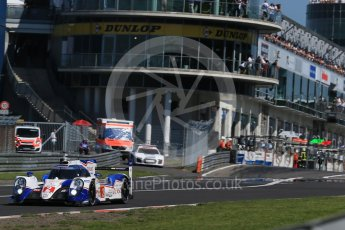 World © Octane Photographic Ltd. FIA World Endurance Championship (WEC), 6 Hours of Nurburgring , Germany - Race, Sunday 30th August 2015. Toyota Racing – Toyota TS040 Hybrid - LMP1 - Alexander Wurz, Stephane Sarrazin and Mike Conway. Digital Ref : 1398LB1D6953