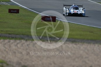 World © Octane Photographic Ltd. FIA World Endurance Championship (WEC), 6 Hours of Nurburgring , Germany - Race, Sunday 30th August 2015. Porsche Team – Porsche 919 Hybrid - LM LMP1 – Romain Dumas, Neel Jani and Marc Lieb. Digital Ref : 1398LB1D7392