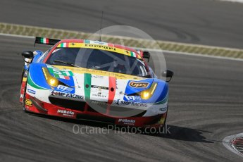 World © Octane Photographic Ltd. FIA World Endurance Championship (WEC), 6 Hours of Nurburgring , Germany - Race, Sunday 30th August 2015. AF Corse – Ferrari F458 Italia GT2 - LMGTE Pro – Gianmaria Bruni, Toni Vilander. Digital Ref : 1398LB1D7748