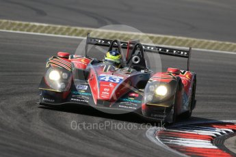 World © Octane Photographic Ltd. FIA World Endurance Championship (WEC), 6 Hours of Nurburgring , Germany - Race, Sunday 30th August 2015. Team SARD Morand – Morgan Evo – LMP2 – Oliver Webb, Pierre Ragues and Archie Hamilton. Digital Ref : 1398LB1D7799