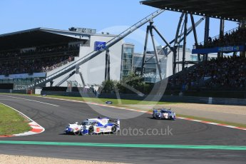 World © Octane Photographic Ltd. FIA World Endurance Championship (WEC), 6 Hours of Nurburgring , Germany - Race, Sunday 30th August 2015. Toyota Racing – Toyota TS040 Hybrid - LMP1 - Anthony Davidson, Sebastien Buemi and Kazuki Nakajima and Alexander Wurz, Stephane Sarrazin and Mike Conway. Digital Ref : 1398LB5D1182