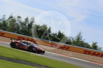 World © Octane Photographic Ltd. FIA World Endurance Championship (WEC), 6 Hours of Nurburgring , Germany - Race, Sunday 30th August 2015. AF Corse - F458 Italia GT2 - LMGTE - LMGTE Am – Francois Perrodo, Emmanuel Collard and Rui Aguas. Digital Ref : 1398LB5D1330