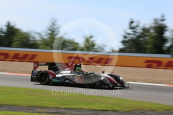 World © Octane Photographic Ltd. FIA World Endurance Championship (WEC), 6 Hours of Nurburgring , Germany - Race, Sunday 30th August 2015. Team SARD Morand – Morgan Evo – LMP2 – Oliver Webb, Pierre Ragues and Archie Hamilton. Digital Ref : 1398LB5D1349