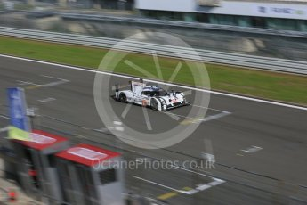 World © Octane Photographic Ltd. FIA World Endurance Championship (WEC), 6 Hours of Nurburgring , Germany - Race, Sunday 30th August 2015. Porsche Team – Porsche 919 Hybrid - LMP1 - Timo Bernhard, Mark Webber and Brendon Hartley. Digital Ref : 1398LB5D1827