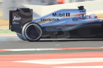 World © Octane Photographic Ltd. McLaren Honda MP4/30 – Jenson Button. Thursday 19th February 2015, F1 Winter testing, Circuit de Catalunya, Barcelona, Spain, Day 1. Digital Ref: 1187CB7B0353