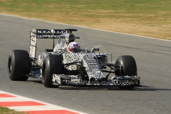 World © Octane Photographic Ltd. Infiniti Red Bull Racing RB11 – Daniel Ricciardo. Thursday 19th February 2015, F1 Winter testing, Circuit de Catalunia, Barcelona, Spain, Day 1. Digital Ref :1187CB7B0568