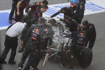 World © Octane Photographic Ltd. Infiniti Red Bull Racing RB11 – Daniel Ricciardo. Thursday 19th February 2015, F1 Winter testing, Circuit de Catalunia, Barcelona, Spain, Day 1. Digital Ref :1187CB7D1367