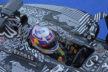World © Octane Photographic Ltd. Infiniti Red Bull Racing RB11 – Daniel Ricciardo. Thursday 19th February 2015, F1 Winter testing, Circuit de Catalunia, Barcelona, Spain, Day 1. Digital Ref :1187CB7L1396