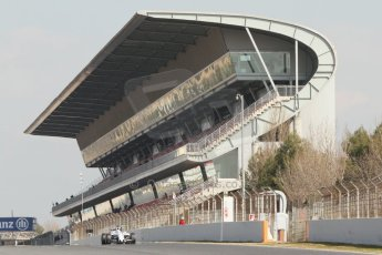 World © Octane Photographic Ltd. Williams Martini Racing FW37 – Susie Wolff. Thursday 19th February 2015, F1 Winter testing, Circuit de Catalunya, Barcelona, Spain, Day 1. Digital Ref:1187CB7L1483