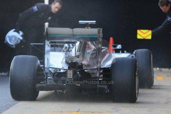 World © Octane Photographic Ltd. Mercedes AMG Petronas F1 W06 Hybrid – Lewis Hamilton. Thursday 19th February 2015, F1 Winter testing, Circuit de Catalunya, Barcelona, Spain, Day 1. Digital Ref : 1187LB1D5461
