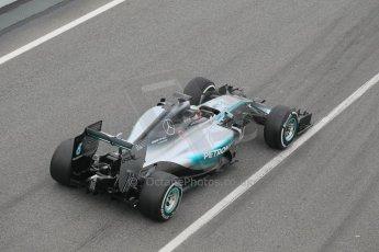 World © Octane Photographic Ltd. Mercedes AMG Petronas F1 W06 Hybrid – Lewis Hamilton. Saturday 21st February 2015, F1 Winter testing, Circuit de Barcelona Catalunya, Spain, Day 3. Digital Ref : 1190CB1L6890