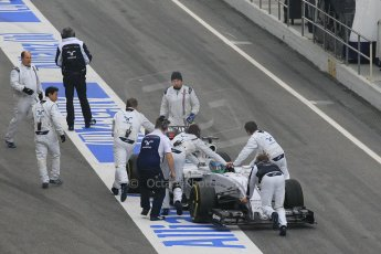 World © Octane Photographic Ltd. Williams Martini Racing FW37 – Felipe Massa. Saturday 21st February 2015, F1 Winter testing, Circuit de Barcelona Catalunya, Spain, Day 3. Digital Ref: 1190CB1L6921