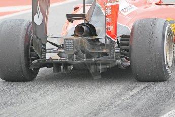 World © Octane Photographic Ltd. Scuderia Ferrari SF15-T– Sebastian Vettel. Saturday 21st February 2015, F1 Winter testing, Circuit de Barcelona Catalunya, Spain, Day 3. Digital Ref: 1190CB1L7993