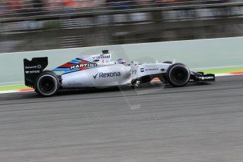 World © Octane Photographic Ltd. Williams Martini Racing FW37 – Valtteri Bottas Saturday 21st February 2015, F1 Winter testing, Circuit de Barcelona Catalunya, Spain, Day 3. Digital Ref: 1190CB1L8413