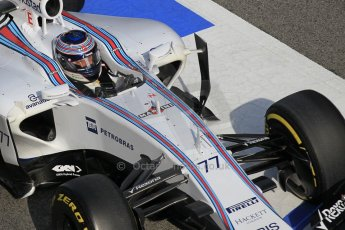 World © Octane Photographic Ltd. Williams Martini Racing FW37 – Valtteri Bottas Saturday 21st February 2015, F1 Winter testing, Circuit de Barcelona Catalunya, Spain, Day 3. Digital Ref: 1190CB1L8592