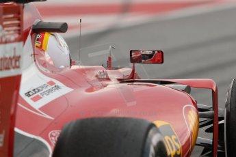 World © Octane Photographic Ltd. Scuderia Ferrari SF15-T– Sebastian Vettel. Saturday 21st February 2015, F1 Winter testing, Circuit de Barcelona Catalunya, Spain, Day 3. Digital Ref: 1190CB7L6372