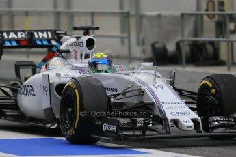 World © Octane Photographic Ltd. Williams Martini Racing FW37 – Felipe Massa. Saturday 21st February 2015, F1 Winter testing, Circuit de Catalunya, Barcelona, Spain, Day 3. Digital Ref: 1190LB1D7808
