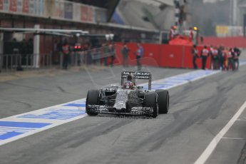 World © Octane Photographic Ltd. Infiniti Red Bull Racing RB11 – Daniil Kvyat. Saturday 21st February 2015, F1 Winter testing, Circuit de Catalunya, Barcelona, Spain, Day 3. Digital Ref : 1190LB1D7906