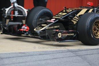 World © Octane Photographic Ltd. Lotus F1 Team E23 Hybrid – Pastor Maldonado. Saturday 21st February 2015, F1 Winter testing, Circuit de Catalunya, Barcelona, Spain, Day 3. Digital Ref : 1190LB1D8009