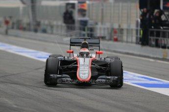 World © Octane Photographic Ltd. McLaren Honda MP4/30 – Jenson Button. Saturday 21st February 2015, F1 Winter testing, Circuit de Catalunya, Barcelona, Spain, Day 3. Digital Ref: 1190LB1D8275