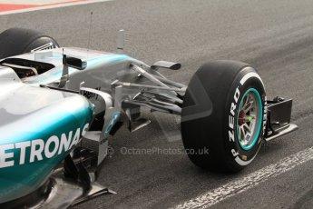 World © Octane Photographic Ltd. Mercedes AMG Petronas F1 W06 Hybrid – Lewis Hamilton. Saturday 21st February 2015, F1 Winter testing, Circuit de Catalunya, Barcelona, Spain, Day 3. Digital Ref : 1190LB7B0676