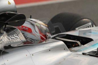 World © Octane Photographic Ltd. Mercedes AMG Petronas F1 W06 Hybrid – Lewis Hamilton. Saturday 21st February 2015, F1 Winter testing, Circuit de Catalunya, Barcelona, Spain, Day 3. Digital Ref : 1190LB7B0683