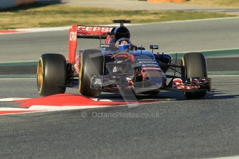 World © Octane Photographic Ltd. Scuderia Toro Rosso STR10 – Carlos Sainz Jnr. Sunday 22nd February 2015, F1 Winter testing, Circuit de Barcelona Catalunya, Spain, Day 4. Digital Ref: 1191CB1L8925