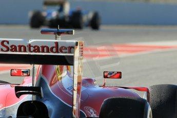 World © Octane Photographic Ltd. Scuderia Ferrari SF15-T– Sebastian Vettel. Sunday 22nd February 2015, F1 Winter test #2, Circuit de Barcelona Catalunya, Spain, Day 4. Digital Ref: 1191CB1L9107
