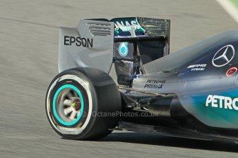 World © Octane Photographic Ltd. Mercedes AMG Petronas F1 W06 Hybrid – Nico Rosberg. Sunday 22nd February 2015, F1 Winter test #2, Circuit de Barcelona Catalunya, Spain, Day 4. Digital Ref : 1191CB1L9176