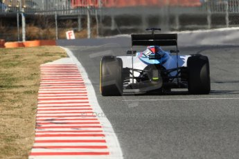 World © Octane Photographic Ltd. Williams Martini Racing FW37 – Valtteri Bottas. Sunday 22nd February 2015, F1 Winter test #2, Circuit de Barcelona Catalunya, Spain, Day 4. Digital Ref: 1191CB7B0809